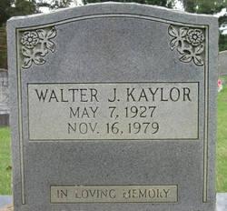 Walter J Kaylor
