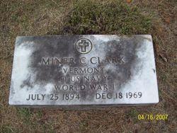 Miner Charles Clark
