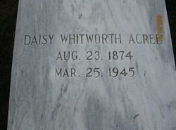 Daisy <i>Whitworth</i> Acree