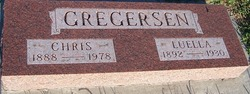 Luella <i>Petersen</i> Gregersen