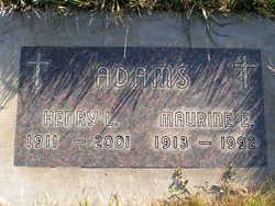 Maurine Elizabeth <i>Schechter</i> Adams