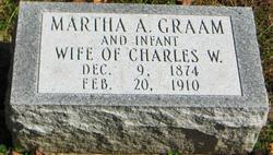 Martha A. <i>Wilcoxson</i> Graam