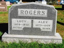 Lucy Jane <i>Lane</i> Rogers