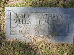Mary Kathryn <i>Wells</i> Burnett