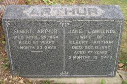 Jane <i>Lawrence</i> Arthur
