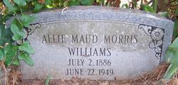 Allie Maud <i>Morris</i> Williams