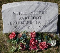Ethel <i>Rogers</i> Barefoot
