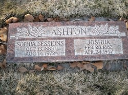 Mary Sophia <i>Sessions</i> Ashton