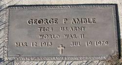 George P. Amble