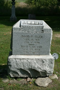 Mary Adeline <i>Coleman</i> Allen