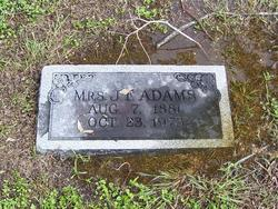 Mrs J F Adams