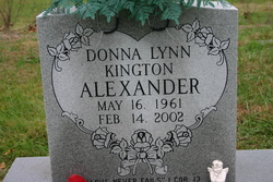 Donna Lynn <i>Kington</i> Alexander