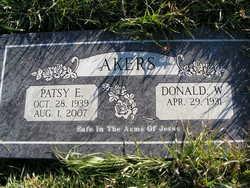 Patsy E <i>Fisher</i> Akers