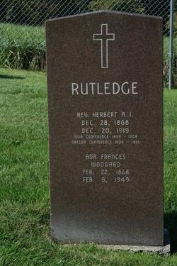 Ada Frances <i>Woodard</i> Rutledge