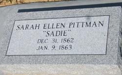 Sarah Ellen Sadie Pittman