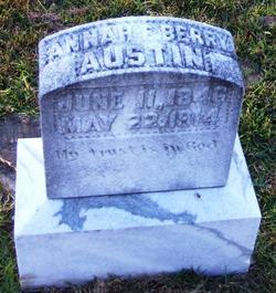 Annie E <i>Berry</i> Austin