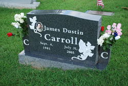 Sgt James Dustin Carroll