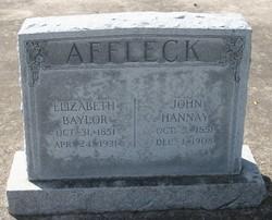 Elizabeth <i>Baylor</i> Affleck