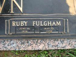 Ruby M. <i>Fulgham</i> Brown