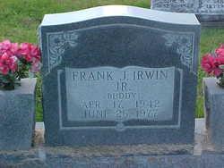 Frank James Buddy Irwin, Jr
