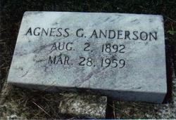 Agness <i>Godwin</i> Anderson