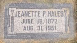 Jeanette Rebecca Hales
