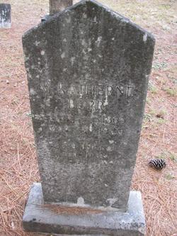 Margaret Katherine Kate <i>Vaughn</i> Burr