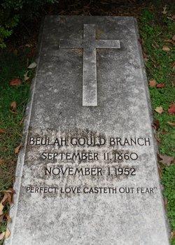 Beulah <i>Gould</i> Branch