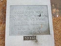 Esther <i>Cassab</i> Abadie