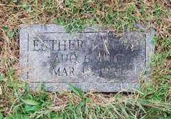 Esther <i>Isenberg</i> Burd