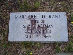 Margaret <i>Durant</i> Altman