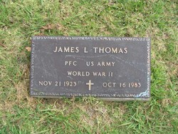 PFC James L. Thomas