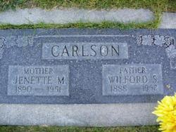 Jenette Martha <i>Mortensen</i> Carlson