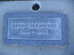 Orpha Geleen <i>Munk</i> Carlson