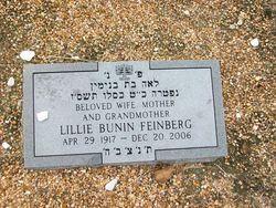 Lillie <i>Bunin</i> Feinberg