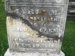 Maria M <i>Van Rensselaer</i> Glen