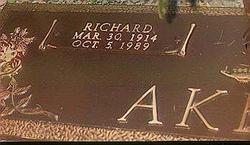 Richard Preacher Akers