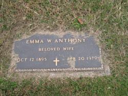 Emma W Anthony