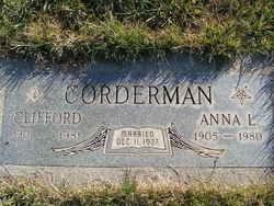 Anna L <i>Brandt</i> Corderman