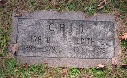 Edith Grace <i>Shutts</i> Cain
