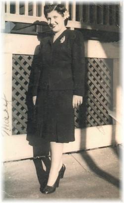 Mary F. <i>DaRosa</i> Blauvelt