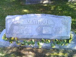 Hattie May <i>Valentine</i> Mathiot