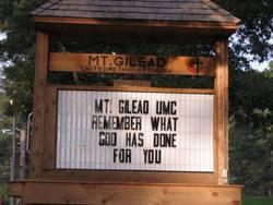Mount Gilead United Methodist Cemetery