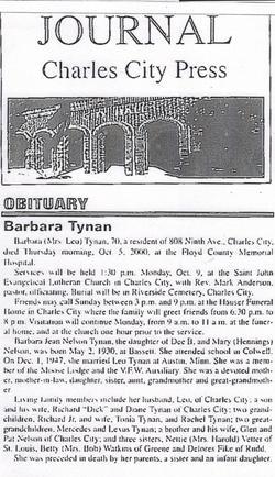 Barbara Jean <i>Nelson</i> Tynan