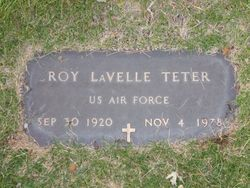 Roy LaVelle Teter