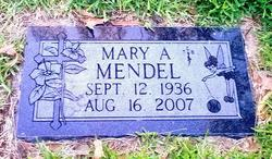 Mary Agnes <i>Tubb</i> Mendel