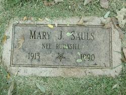 Mary Jane <i>Rudasill</i> Sauls