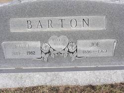 Joseph Joe Barton