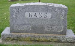 Mallye M <i>Bennett</i> Bass