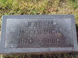 John M. McCormick